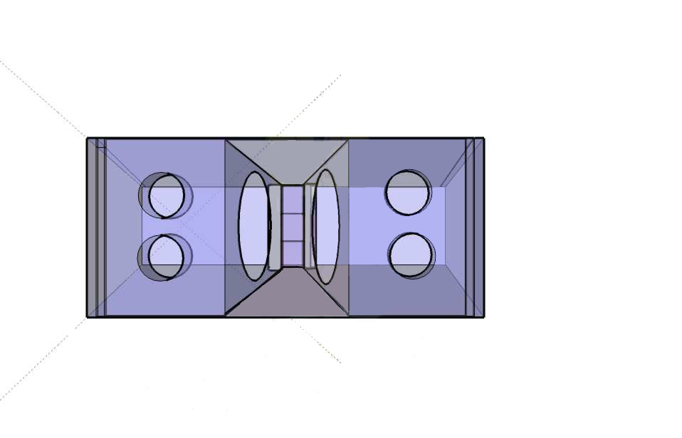 Projeto line array com 2 sub de 18 polegadas e 700 watts 193 udio e