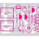 Protetor eletrônico para saída de som do amplificador.