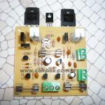 Amplificador estéreo de 350 watts rms 8 ohms com pré-amplificador