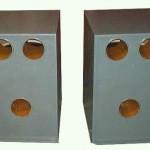 Projeto de cavidade acoplada com 1 alto falante 18 polegadas