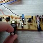 Pré amplificador estéreo profissional
