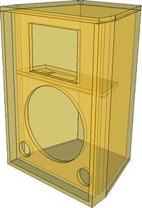 caixa-2-vias-falante12-duto-sintonizado-raio-x