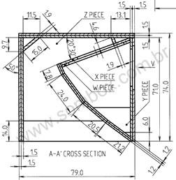 CLICK PARA AMPLIAR - Vista superior em corte
