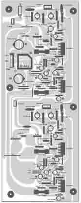 click na imagem para ampliar -- POSIÇÃO DOS COMPONENTES NA PLACA DE CIRCUITO.