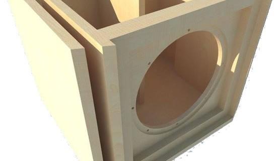 Projeto de um subwoofer compacto para alto-falante 12 Polegadas.
