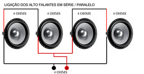 ligacao_alto_serie_paralelo_4ohms